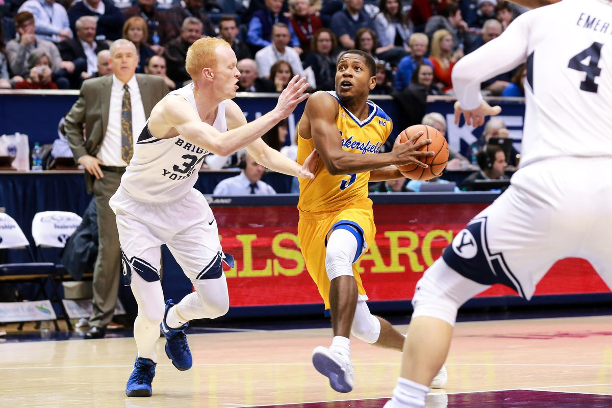 NCAA Basketball: Cal. State - Bakersfield at Brigham Young