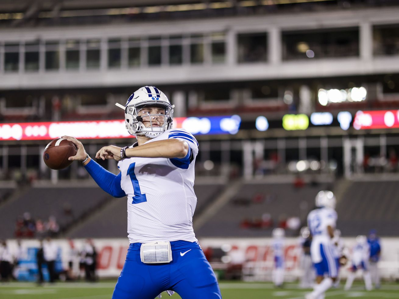 BYU players relish first opportunity to play in front of spectators this season at Houston