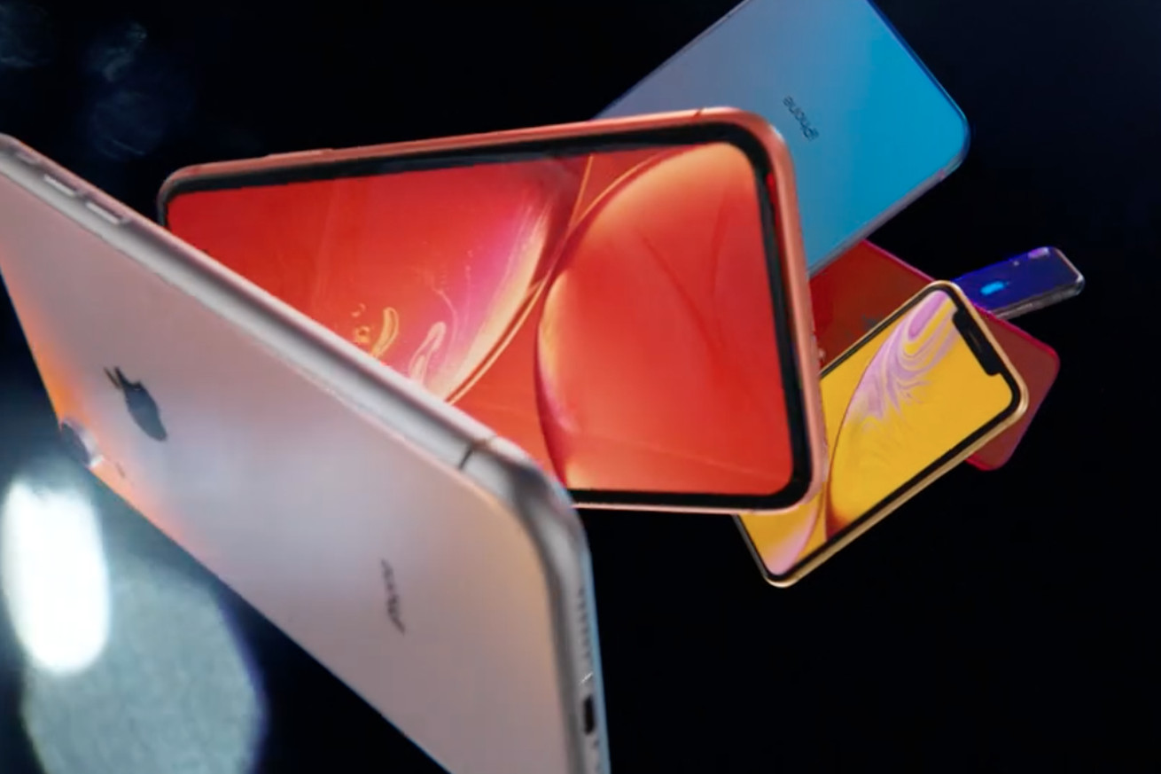 iphone xr announced with a notched 6 1 inch lcd display and face id