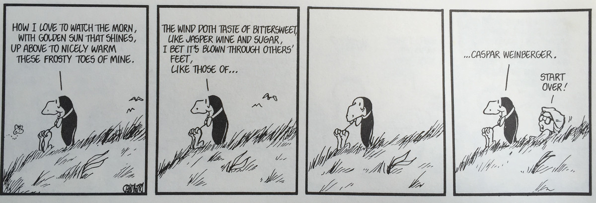From the anthology 'One Last Little Peek,' Little, Brown and Company,1995