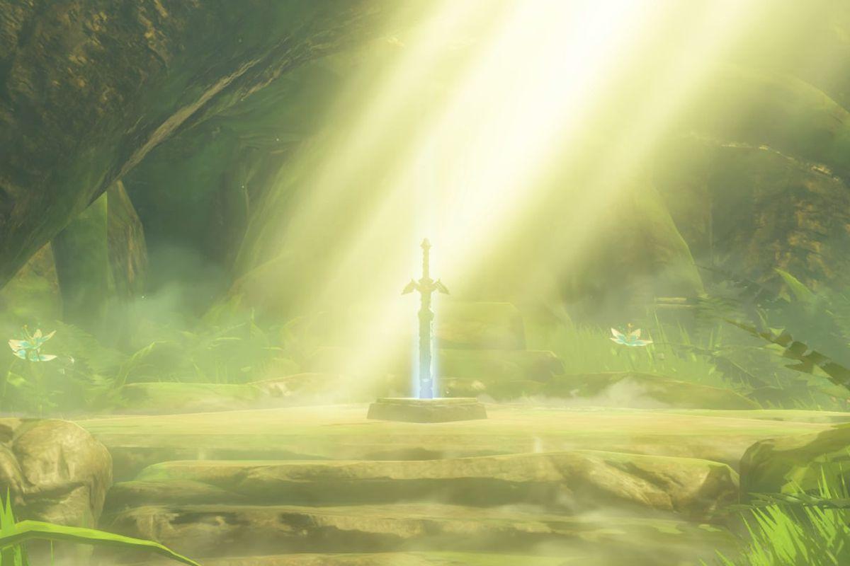 The Legend of Zelda: Breath of the Wild sword