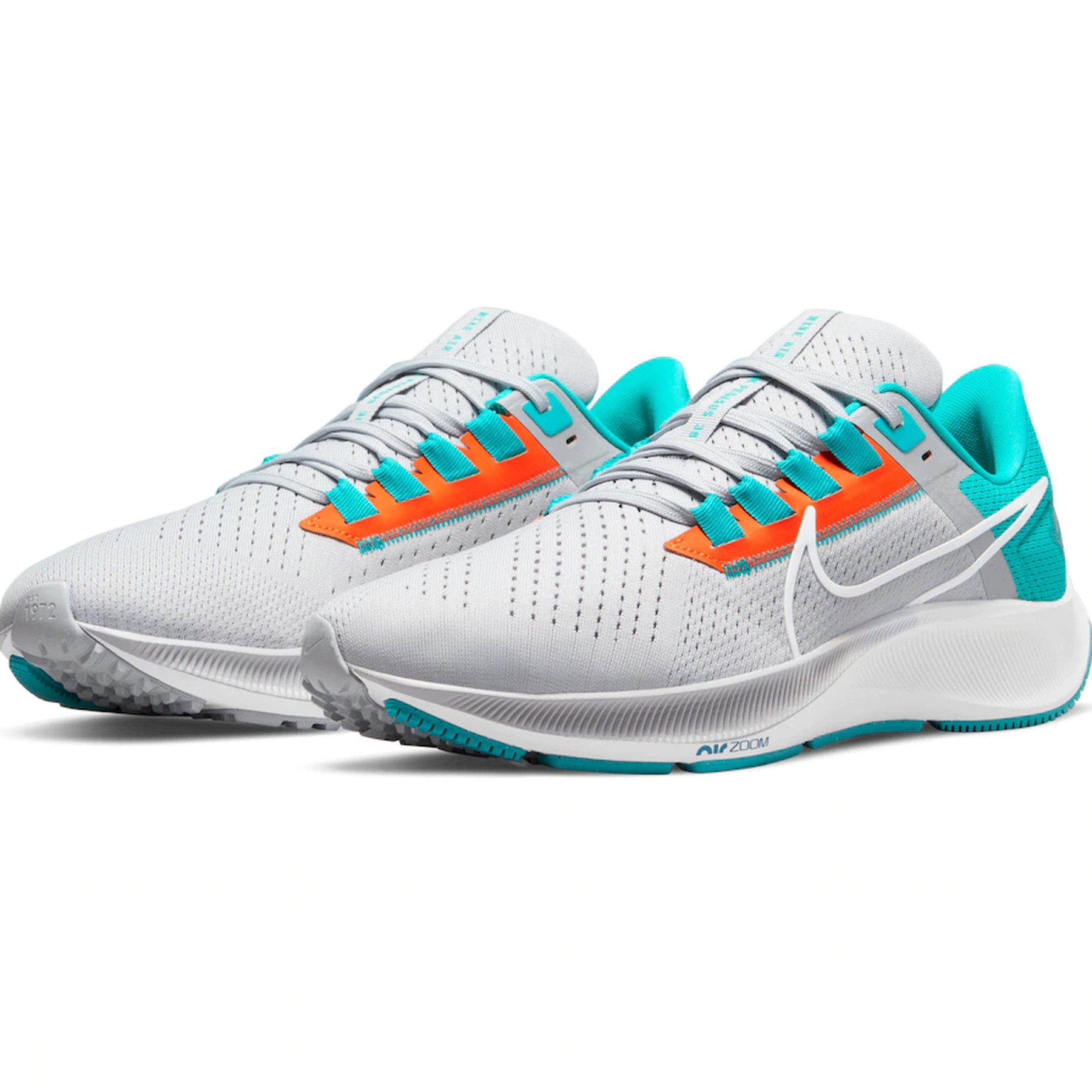 Miami Dolphins Nike Air Zoom Pegasus 38 is here! - The Phinsider