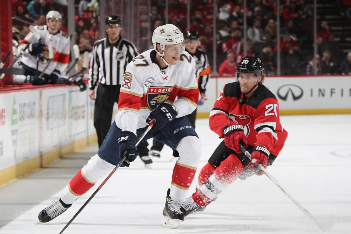 2cc04407eeb Gamethread 23 of 82  New Jersey Devils at Florida Panthers - All About The  Jersey