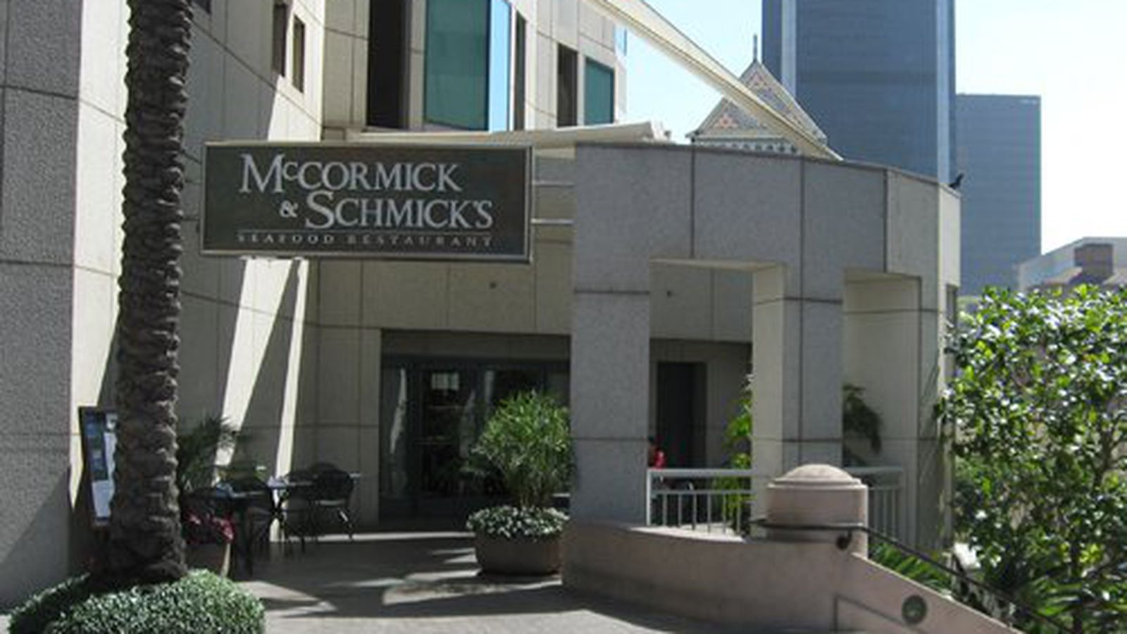 Mccormick Restaurant Downtown Houston