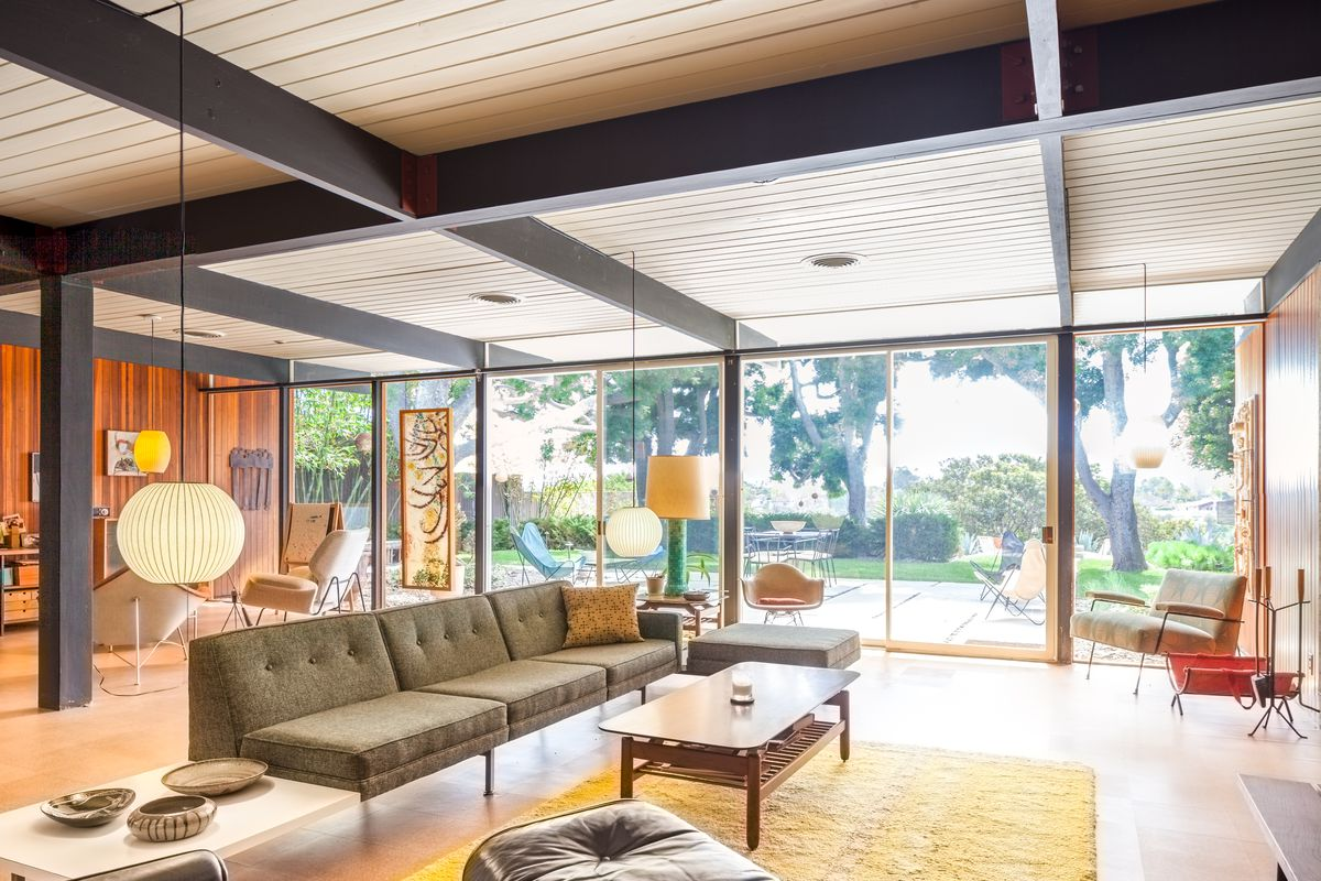 gorgeously restored midcentury house asks 800k in san diego curbed. Black Bedroom Furniture Sets. Home Design Ideas