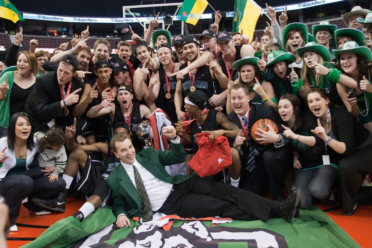 The University of Saskatchewan Hukies were last season's surprise champs making an exciting run but who will be this year's Cinderella, or Goliath for that matter?  (Photo:  U of Saskatchewan athletics)