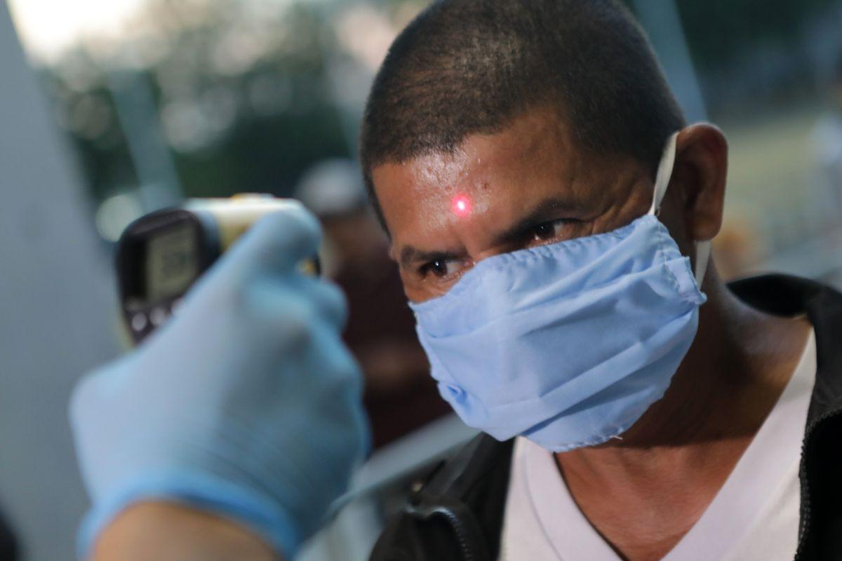Professional Boxing Night During Coronavirus Pandemic in Managua