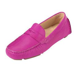 """<span class=""""credit""""><em>Cole Haan Sadie Deconstructed Drivers in Orchid, <a href=""""http://www.colehaan.com/sadie-deconstructed-drivers-orchid/D40330.html?dwvar_D40330_color=Orchid#q=orchid&start=2"""">$119.95</a>, Cole Haan at the Grand Canal Shops</em></spa"""