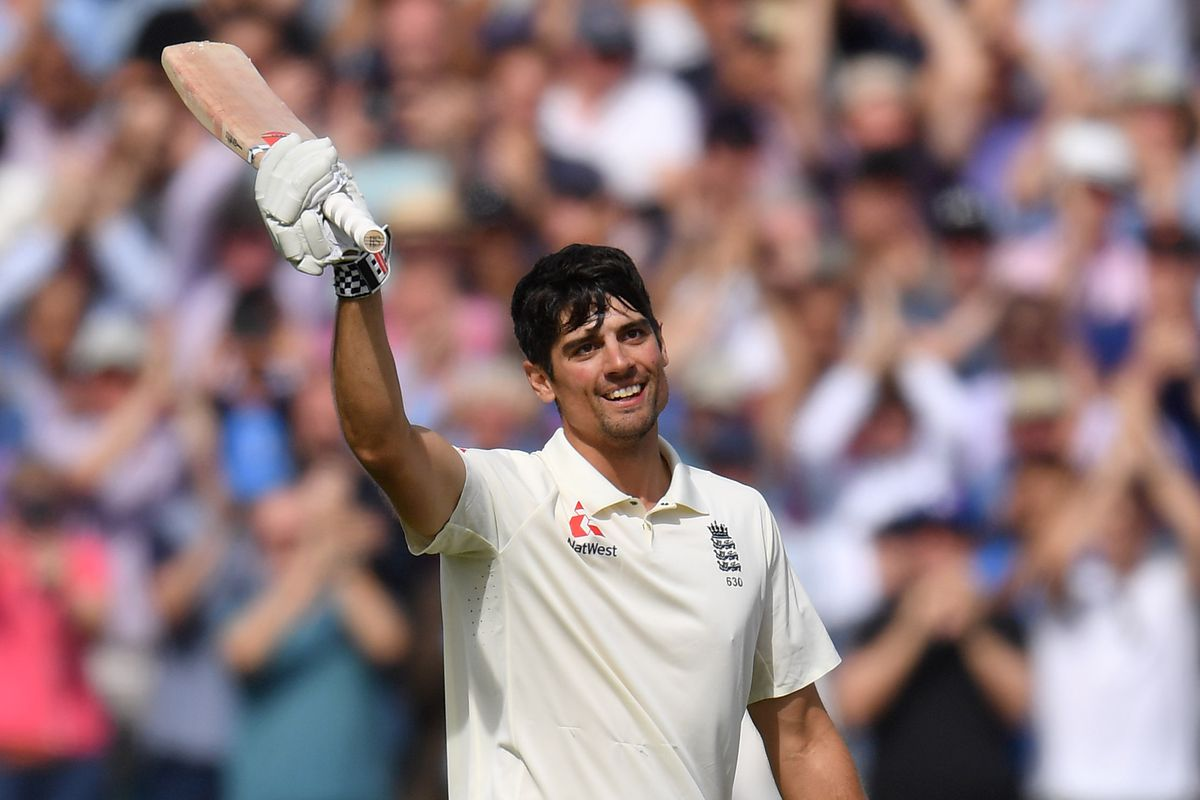 Alastair Cook hits century in final test cricket match for England -  SBNation.com