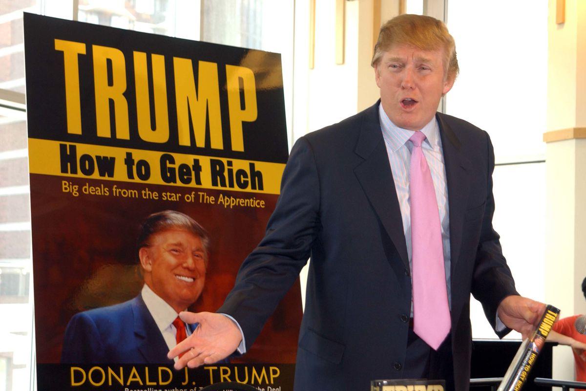 Donald Trump Book Signing