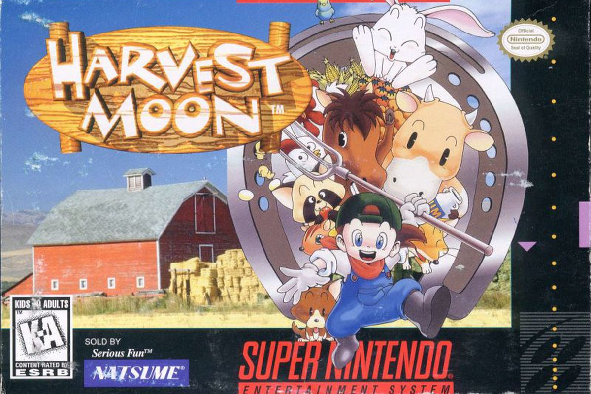 Mint-condition Harvest Moon SNES game sells for record
