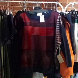 There plenty of plaids at the sale, including this Band of Outsiders sweater for $333.