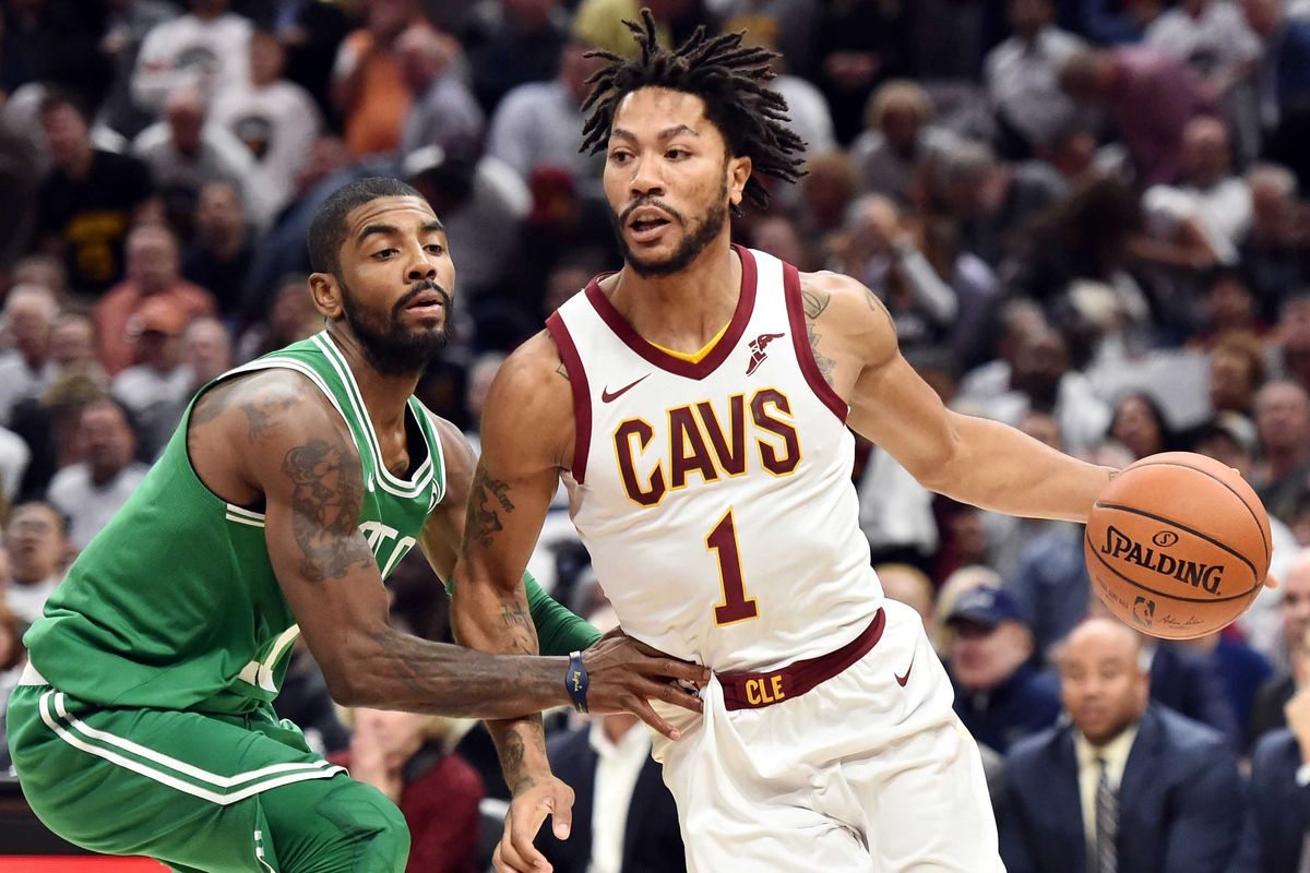 4b3ec7b7c01 Derrick Rose is learning from LeBron James and happy to be in Cleveland