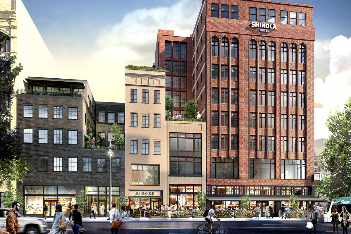 New Renderings Video Released For The Shinola Hotel