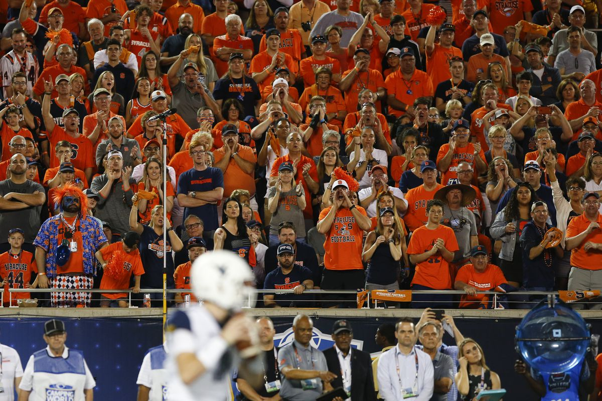 Syracuse Renames Student Section From Otto S Army To Ozone