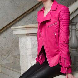 "<b>Heather Lawton</b> Lambs Leather Moto Jacket with Silk Lining, <a href=""http://www.heatherlawton.com"">$3,500</a> at ODD"