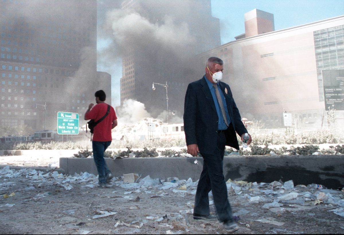 Civilians in the dust after 9/11