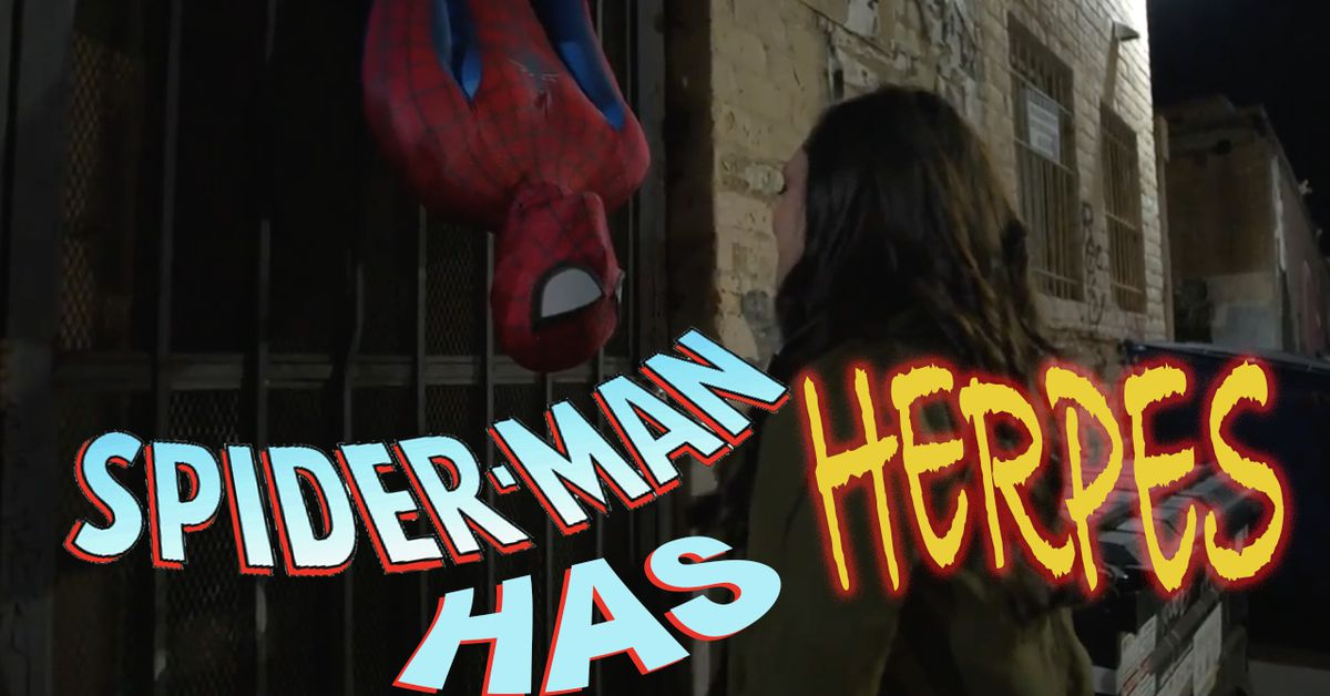 What If Spiderman Has Herpes