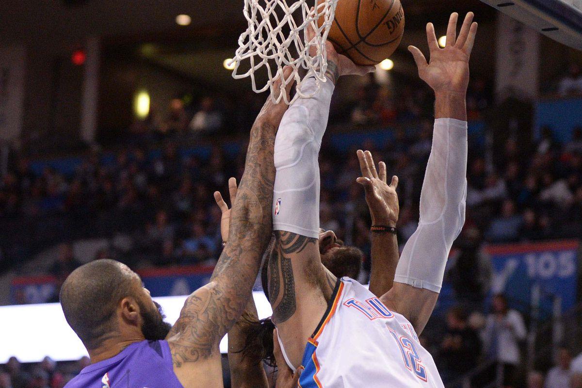 NBA: Phoenix Suns at Oklahoma City Thunder
