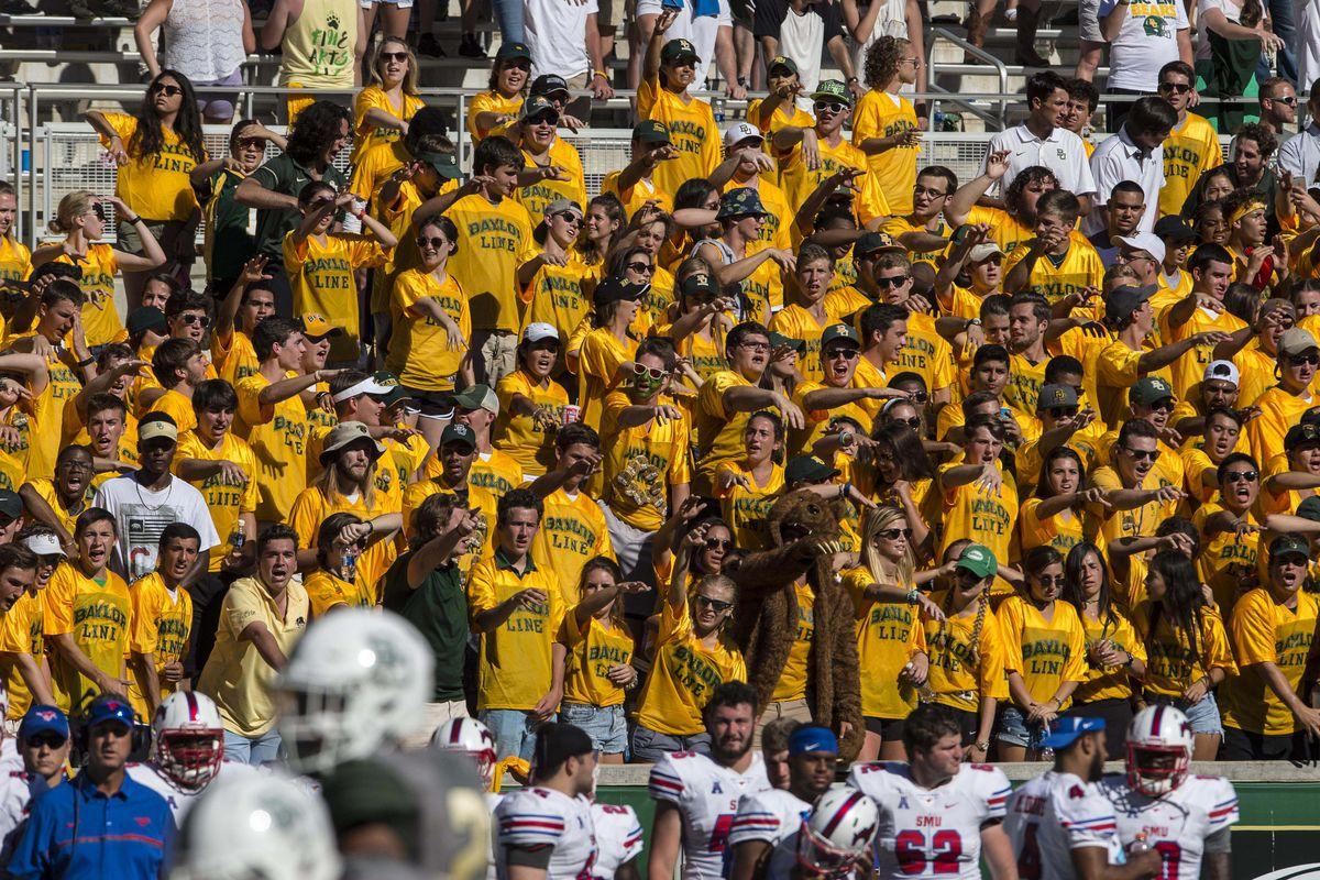 NCAA Football: Southern Methodist at Baylor