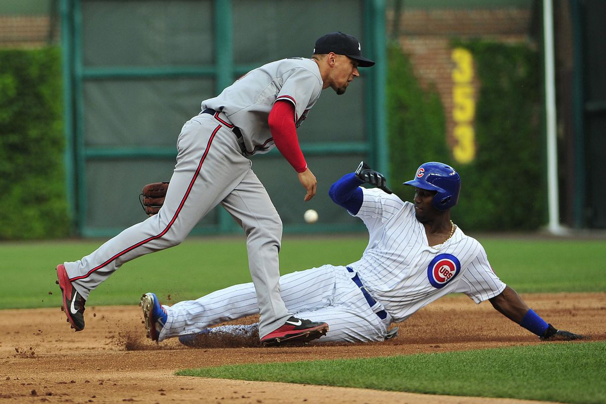 Why this photo, exactly? Soler didn't make the podium, but the play was worth .199.