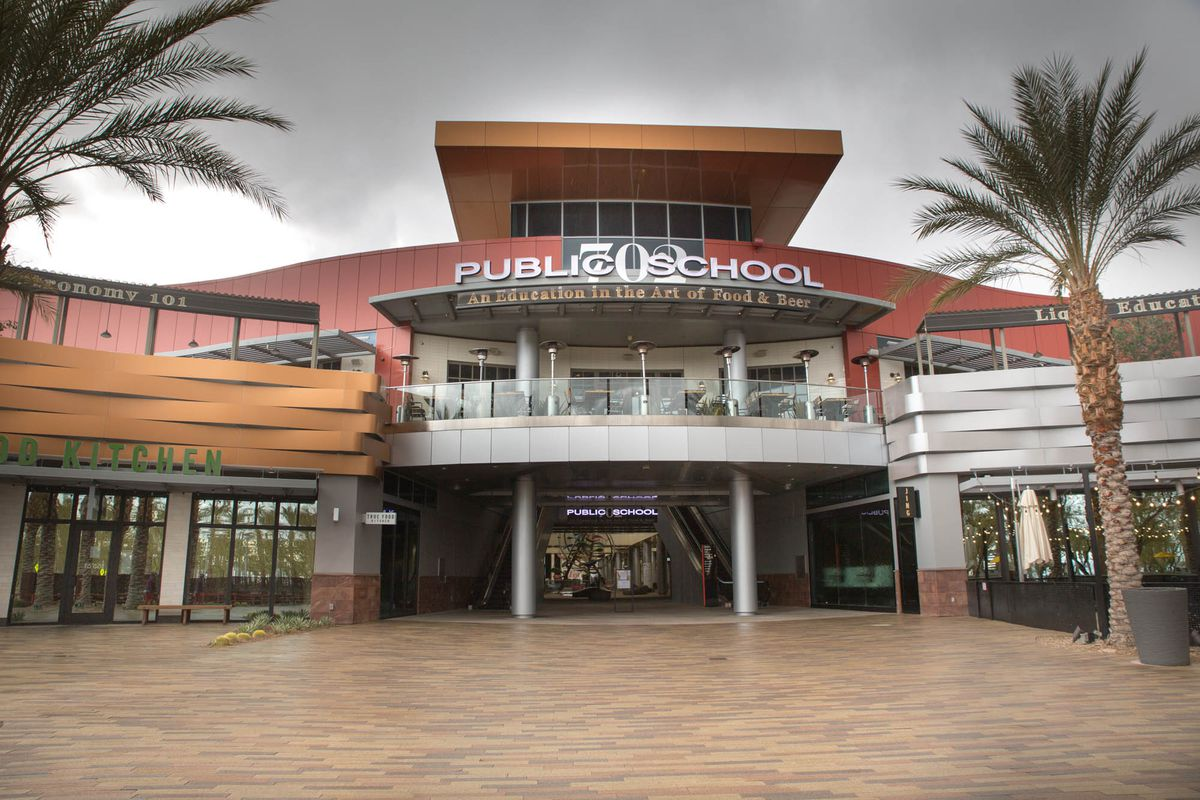 Public School 702 in Downtown Summerlin closed temporarily during the coronavirus pandemic.