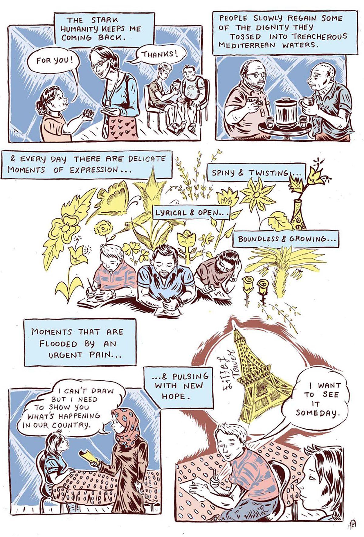 ali fitzgerald comic page 4