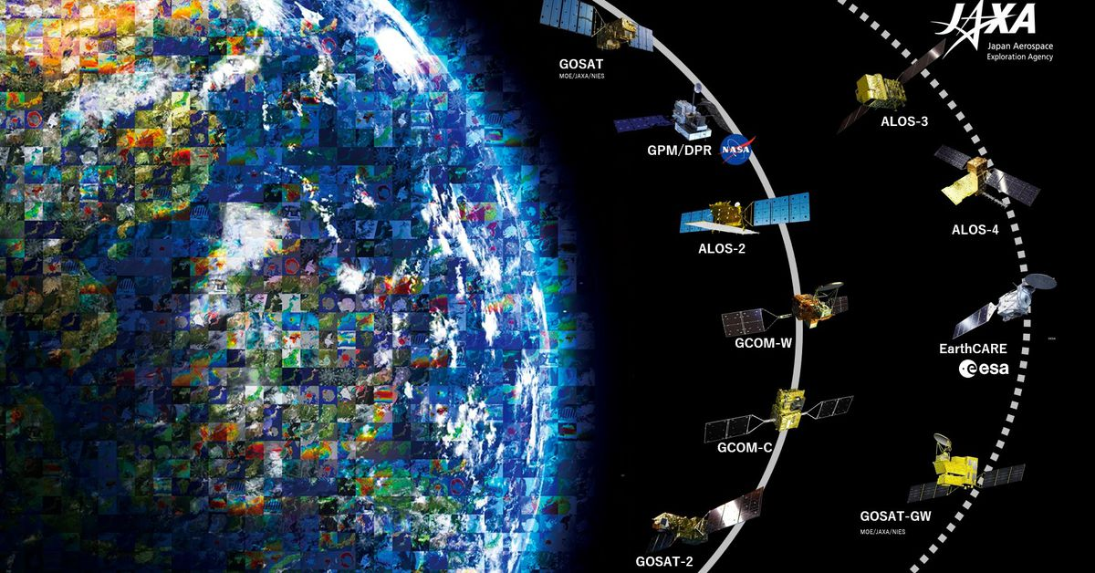 Space agencies unveil site showing lockdown changes to Earth
