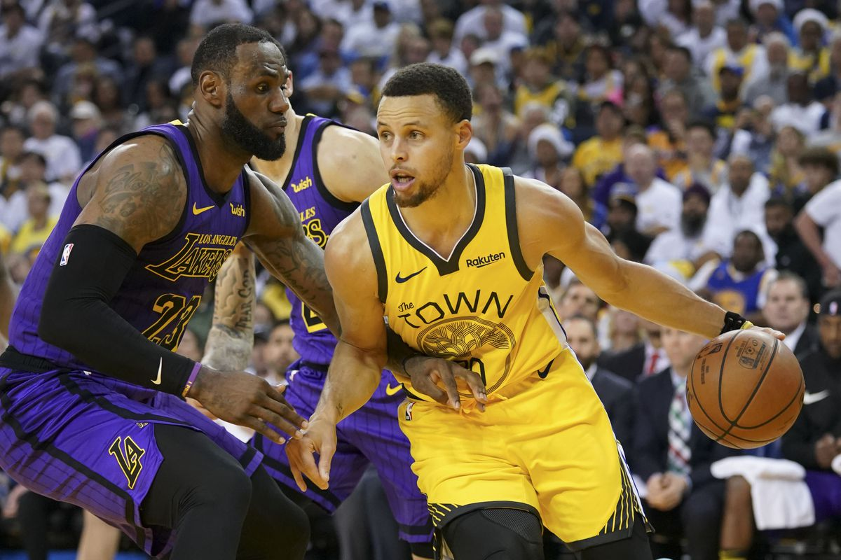 NBA: Los Angeles Lakers at Golden State Warriors