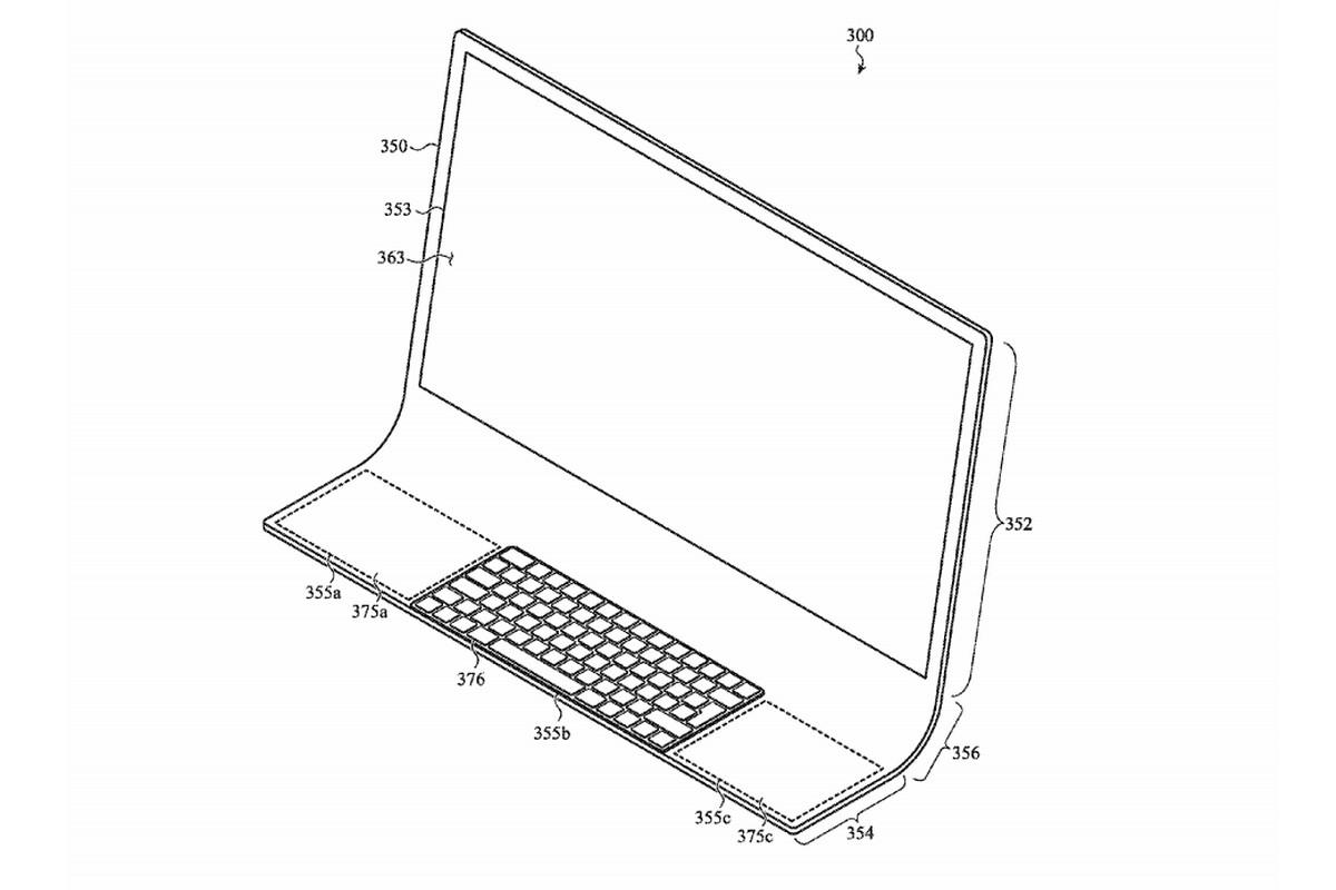 Apple хотят создать стеклянный iMac. Компания подала патентную заявку (фото 1)