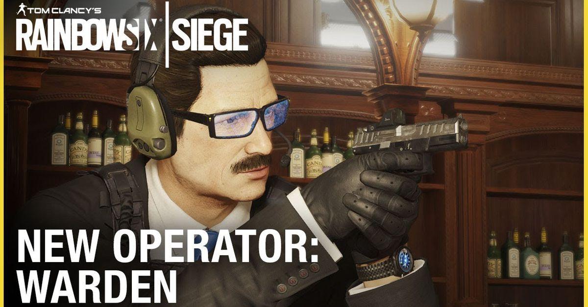 Rainbow Six Siege's next operator looks like The Onion's accountant