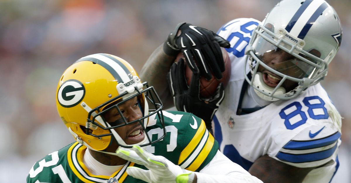 What if Dez Bryant's catch had been ruled a catch against Green Bay? - Bloggin...