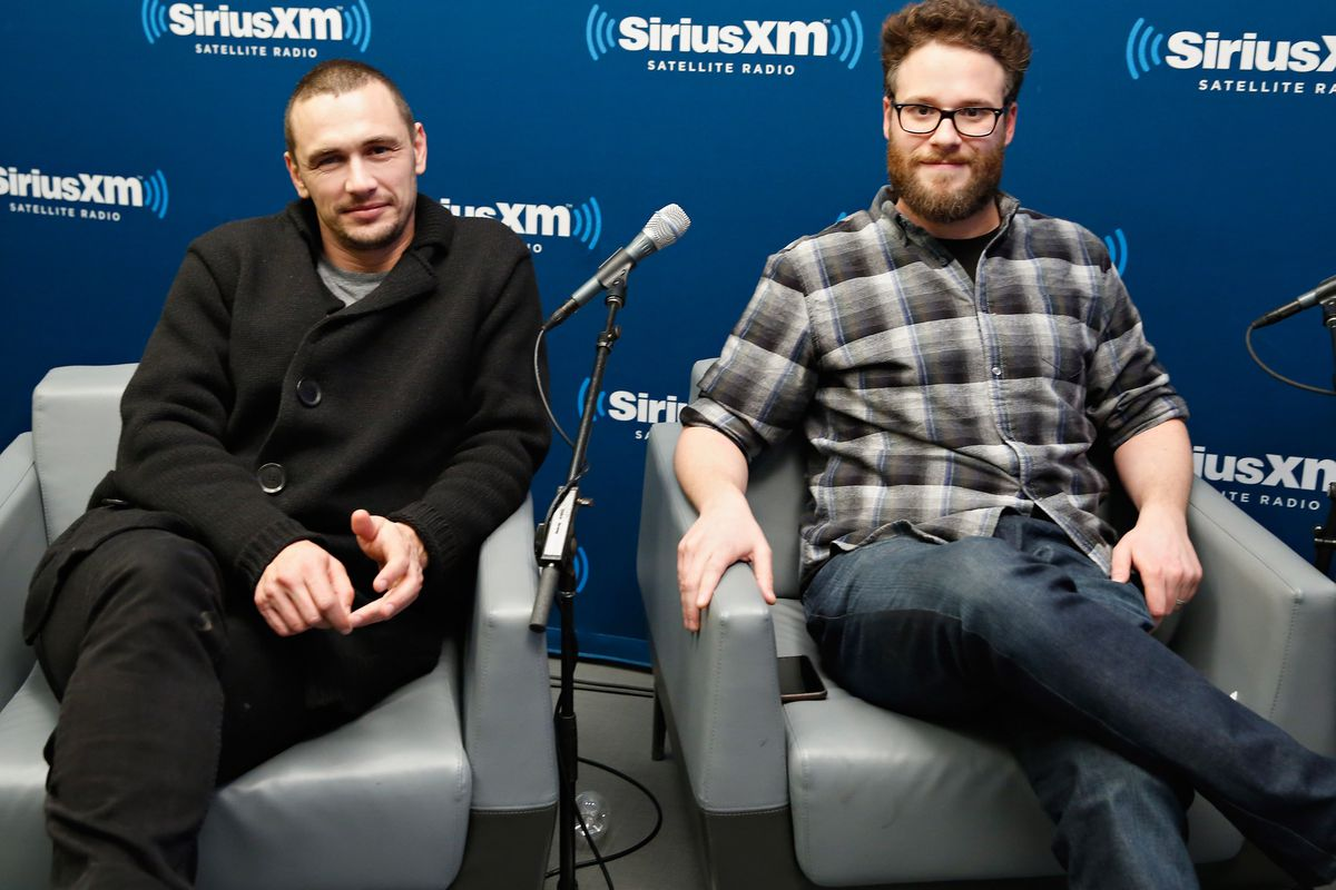 James Franco and Seth Rogen, the stars of The Interview, promote the film on SiriusXM.