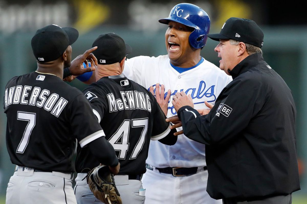premium selection 6a303 8d261 White Sox' Tim Anderson ticks off Royals by daring to be ...