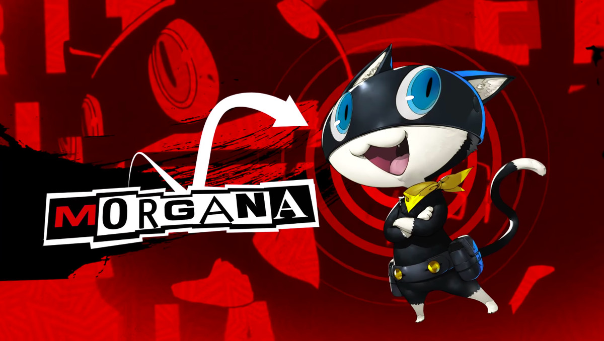 Does Morgana finally become human in Persona 5: The Royal?