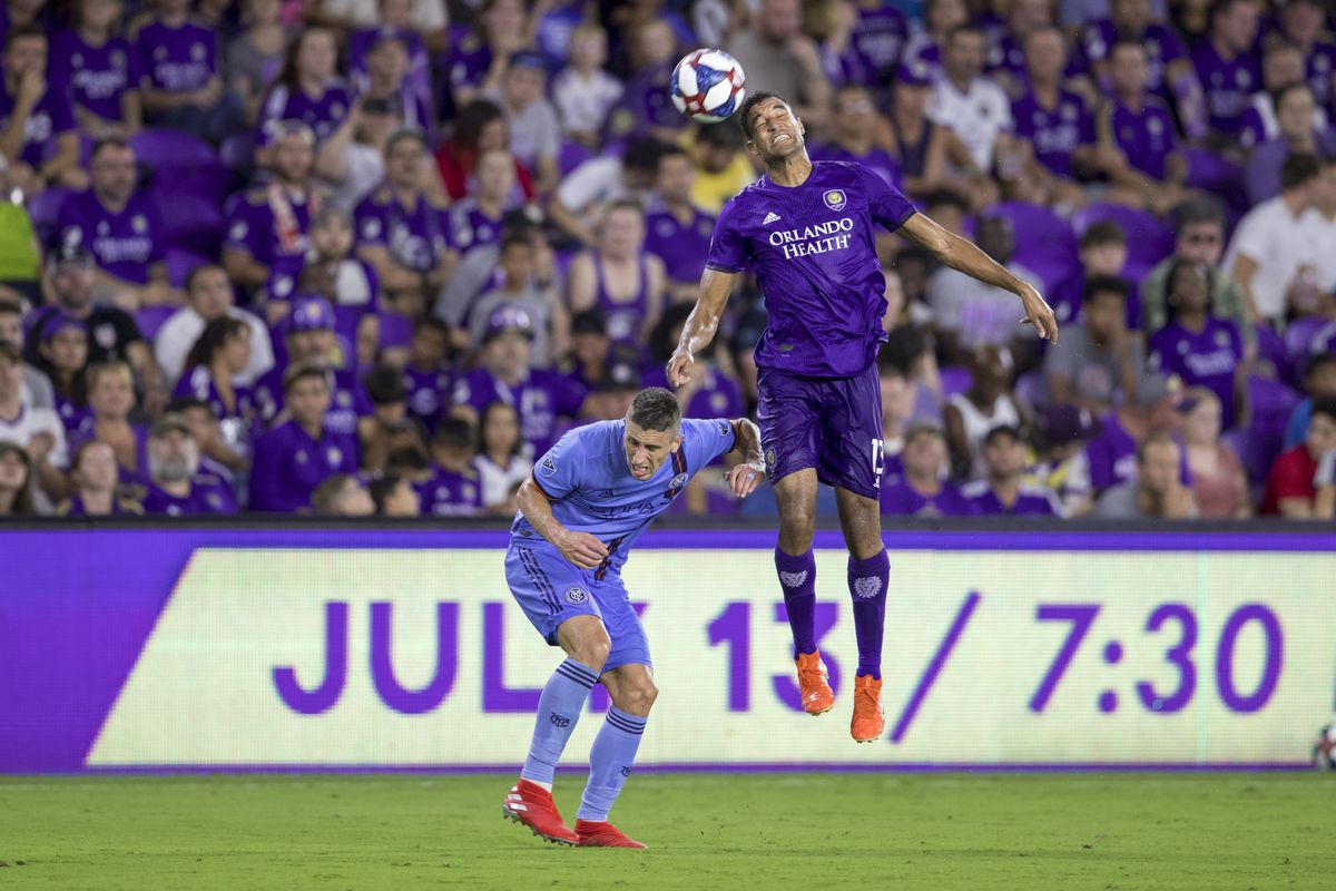 SOCCER: JUL 10 US Open Cup Quarterfinals - New York City FC at Orlando City SC
