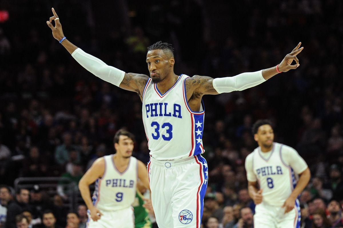 Sixers Exercise Option on Covington