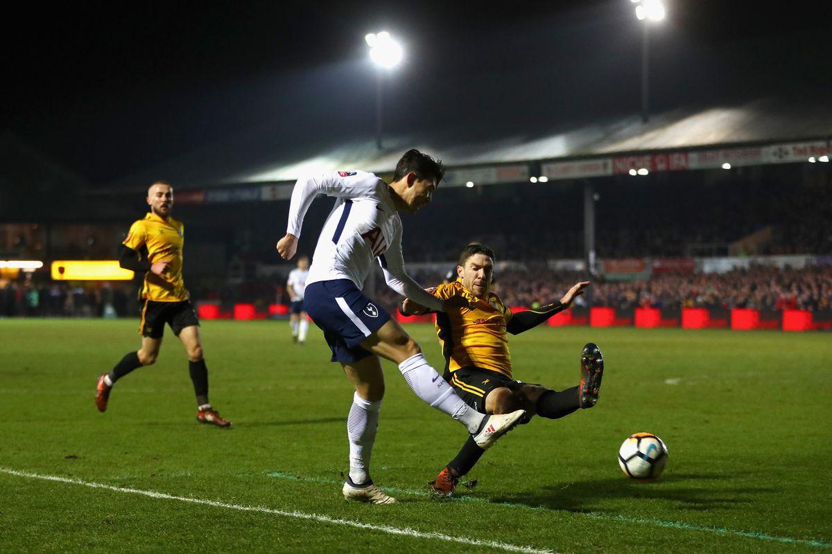 Newport County v Tottenham Hotspur - The Emirates FA Cup Fourth Round