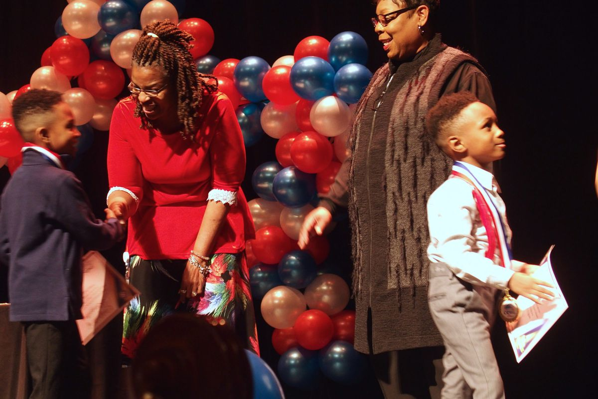 Shelby County Schools held an induction ceremony last week to recognize the 600 students newly identified as gifted in kindergarten through second grade.