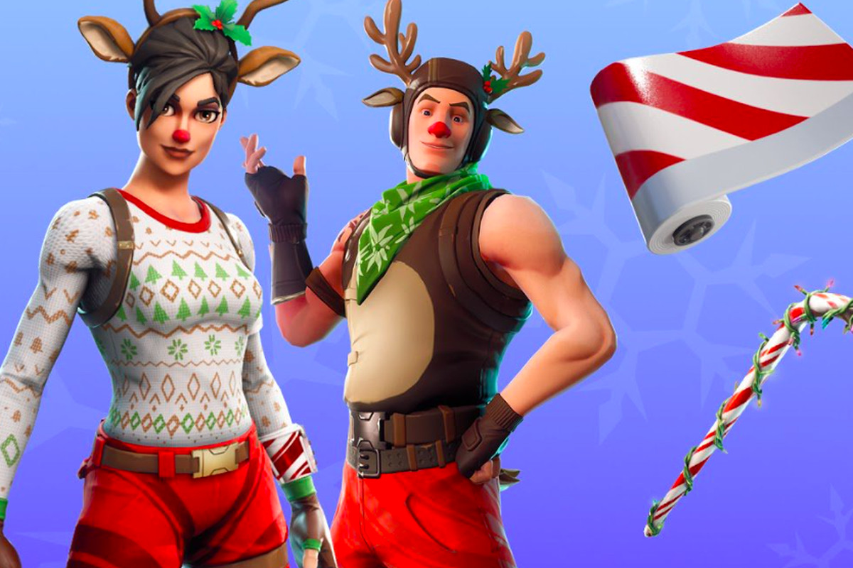 Fortnite Starts Two Week Holiday Celebration With Snowball Launchers