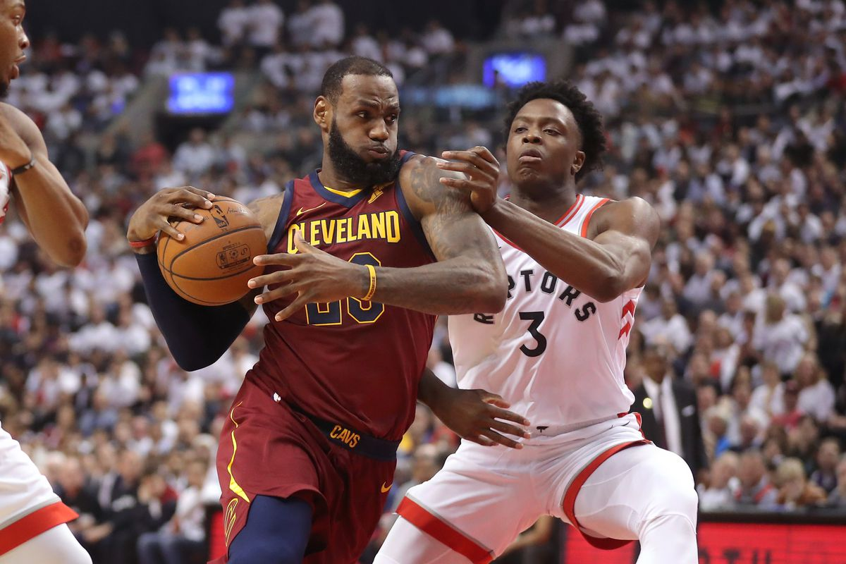 a04775170dfc NBA Playoffs 2018  LeBron James crushes the Raptors in Game 2