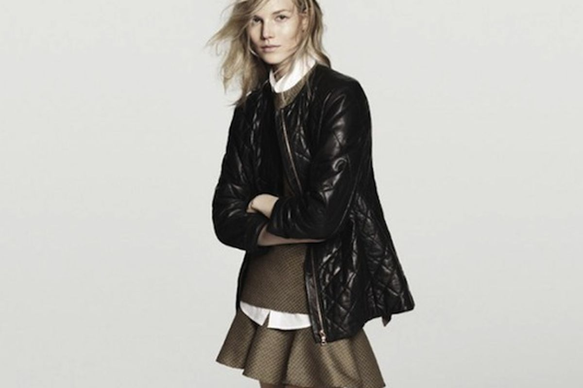 A shot from Club Monaco's fall 2013 campaign