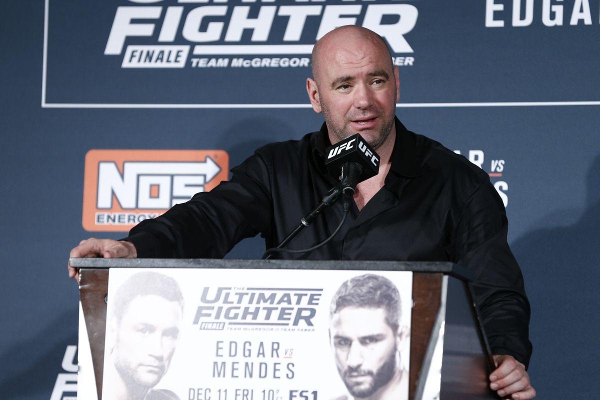 Dana White post-fight