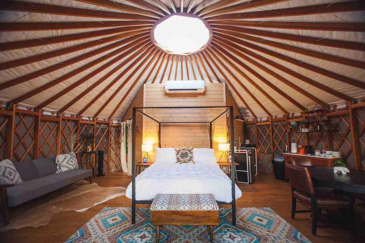 9 Cabins And Glamping Spots Near Austin To Rent For A Getaway Curbed Austin Koronavirüs dönemindeki uçuş kuralları nelerdir? 9 cabins and glamping spots near austin