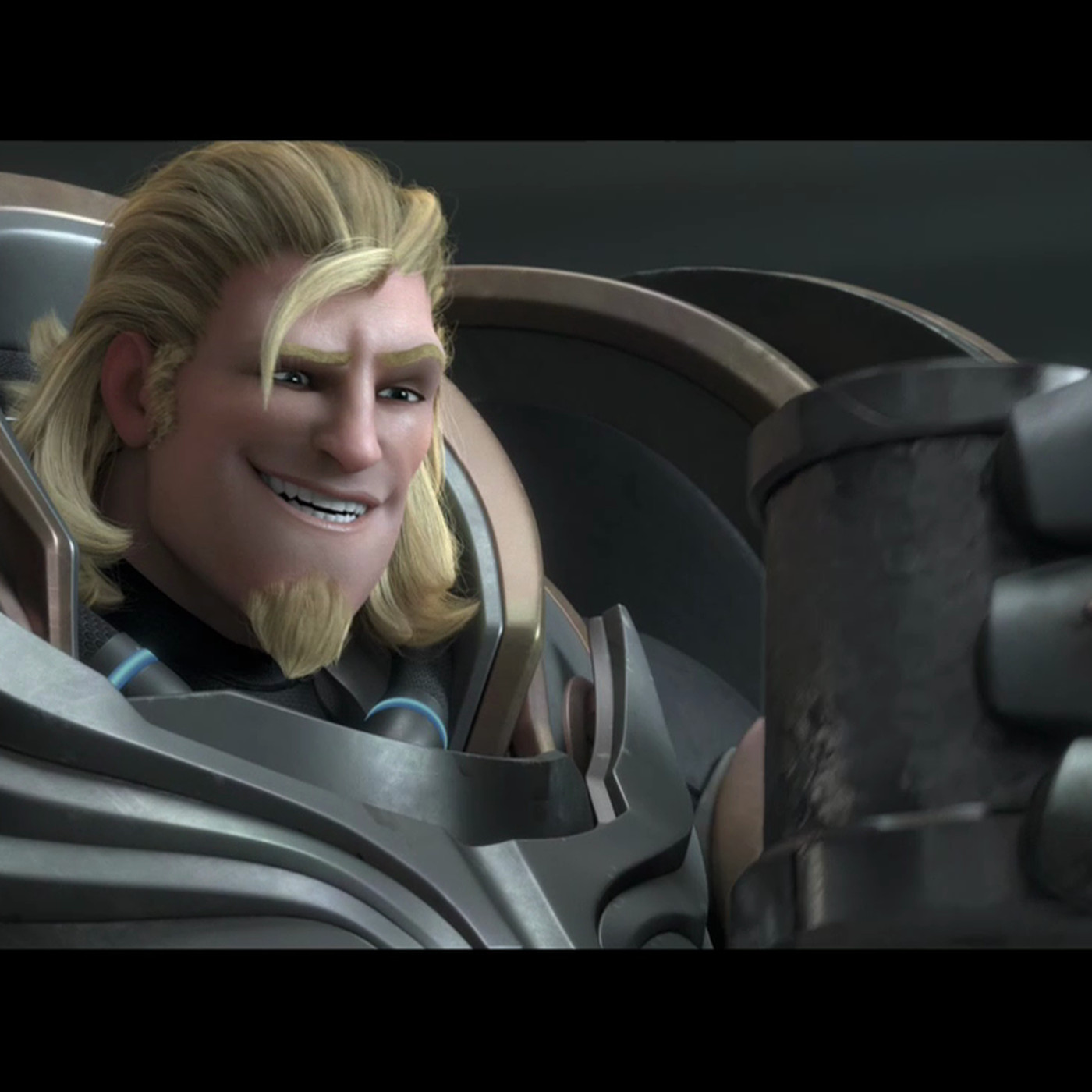 New Overwatch Short Shows A Younger Softer Side Of Reinhardt Polygon