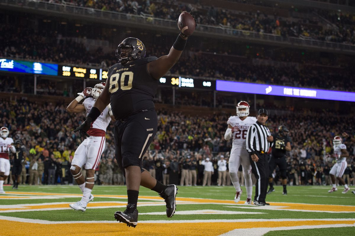 Baylor will be looking to rebound from last Saturday's loss to Oklahoma