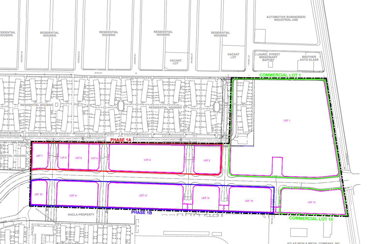Lot 1, which is contaminated with two carcinogens, is outlined in green.