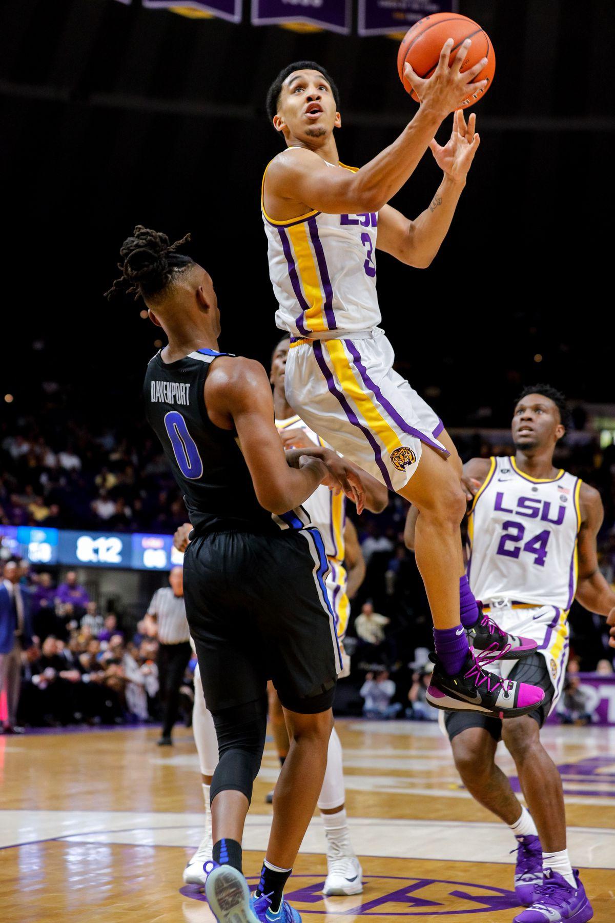 NCAA Basketball: Memphis at Louisiana State