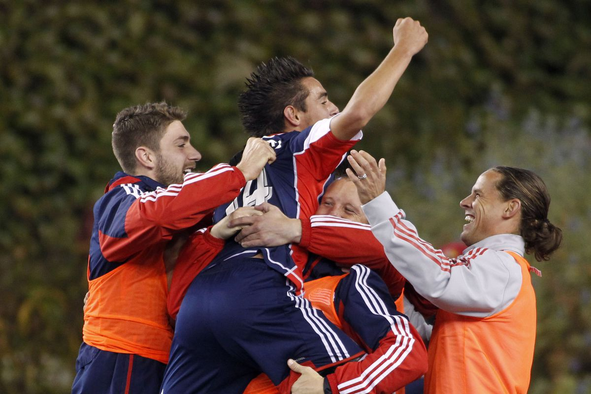 The Revs need to see Diego Fagundez celebrating regularly to build on 2013.