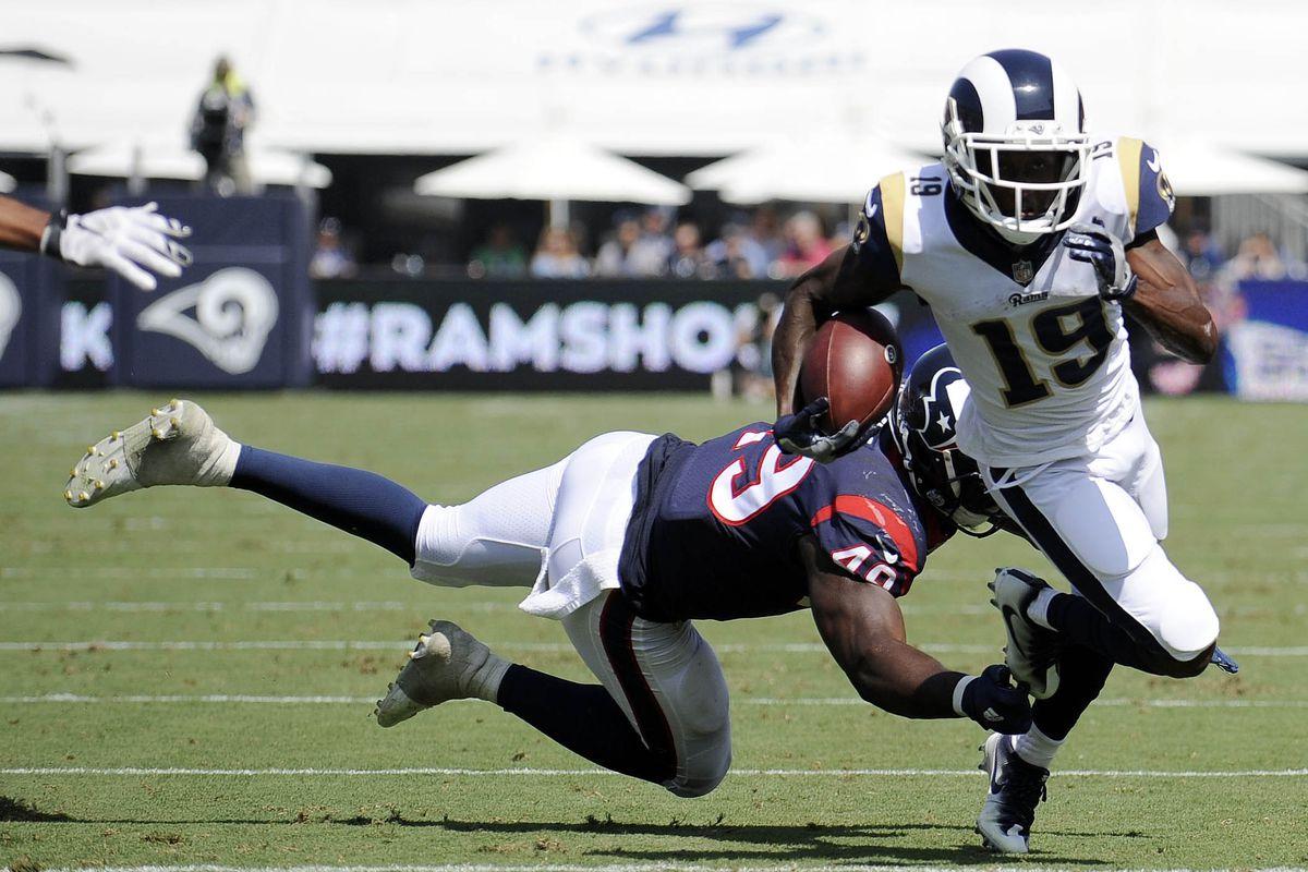 NFL: Houston Texans at Los Angeles Rams